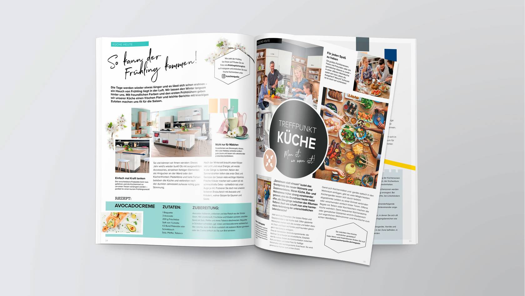 High Quality Magalogue For Kuchenquelle Bloom